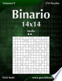 libro Binario 14x14   Medio   Volumen 9   276 Puzzles