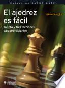 libro El Ajedrez Es Fácil