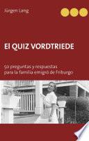 libro El Quiz Vordtriede