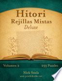libro Hitori Rejillas Mixtas Deluxe   Volumen 2   255 Puzzles