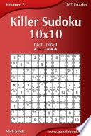 Killer Sudoku 10×10   De Fácil A Difícil   Volumen 7   267 Puzzles