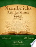 Numbricks Rejillas Mixtas Deluxe   De Fácil A Difícil   Volumen 6   474 Puzzles