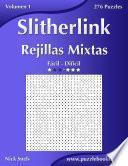 libro Slitherlink Rejillas Mixtas   De Fácil A Difícil   Volumen 1   276 Puzzles
