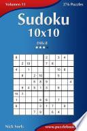 Sudoku 10×10   Difícil   Volumen 11   276 Puzzles