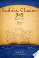 Sudoku Clásico 9×9 Deluxe   Experto   Volumen 55   468 Puzzles