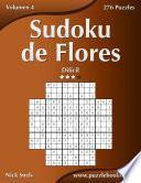 Sudoku De Flores   Difícil   Volumen 4   276 Puzzles