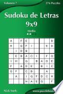 libro Sudoku De Letras 9x9   Medio   Volumen 7   276 Puzzles