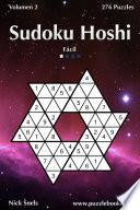 libro Sudoku Hoshi   Fácil   Volumen 2   276 Puzzles