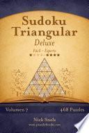 libro Sudoku Triangular Deluxe   De Fácil A Experto   Volumen 7   468 Puzzles