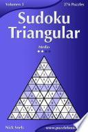 libro Sudoku Triangular   Medio   Volumen 3   276 Puzzles