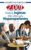 2,001 Palabras Inglesas Mas Utiles Para Hispanoparlantes