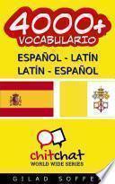 4000+ Español   Latín Latín   Español Vocabulario