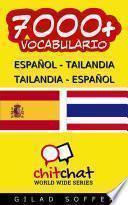 7000+ Español   Tailandia Tailandia   Español Vocabulario