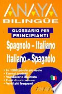 Anaya Bilingüe Español Italiano/italiano Español