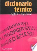 libro Diccionario Técnico Inglés Español