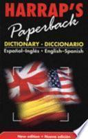 Harrap S Paperback Dictionary Diccionario