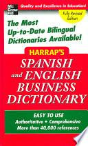 Harrap S Spanish And English Business Dictionary