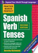 libro Practice Makes Perfect Spanish Verb Tenses, Second Edition