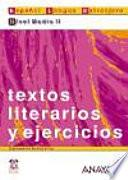 libro Textos Literarios Y Ejercicios