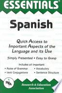 The Essentials Of Spanish