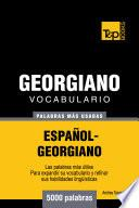 Vocabulario Español Georgiano   5000 Palabras Más Usadas