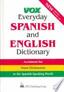 libro Vox Everyday Spanish And English Dictionary