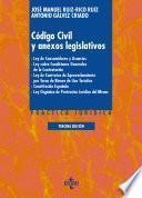 libro Código Civil Y Anexos Legislativos