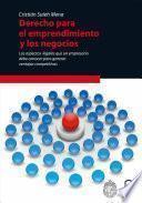 libro Derecho Para El Emprendimiento Y Los Negocios