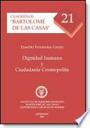 libro Dignidad Humana Y Ciudadanía Cosmopolita