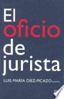 libro El Oficio De Jurista