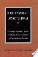 El Ordenamiento Constitucional