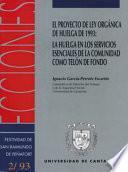 El Proyecto De Ley Orgánica De Huelga De 1993