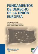 libro Fundamentos De Derecho De La Unión Europea