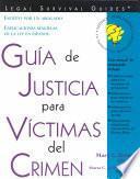 Guía De Justicia Para Víctimas Del Crimen