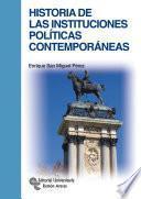 libro Historia De Las Instituciones Políticas Contemporáneas