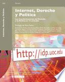 Internet, Derecho Y Politica/ Internet, Right And Politics