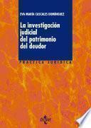 libro La Investigación Judicial Del Patrimonio Del Deudor