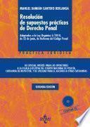 libro Resolución De Supuestos Prácticos De Derecho Penal