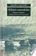 libro Al Buen Entendedor
