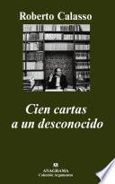 libro Cien Cartas A Un Desconocido