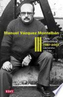 Obra Periodística 1987 2003 (obra Periodística Iii)
