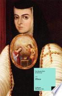 libro Obras De Sor Juana Inés De La Cruz