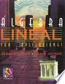libro Álgebra Lineal Con Aplicaciones