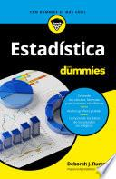 libro Estadística Para Dummies