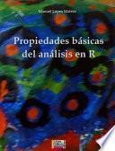 Propiedades Básicas Del Análisis En R