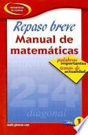 libro Quick Review Math Handbook