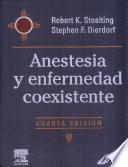 libro Anestesia Y Enfermedad Coexistente