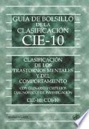 Guía De Bolsillo De La Clasificación Cie 10