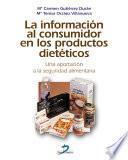 libro La Información Al Consumidor En Los Productos Dietéticos