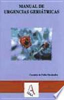libro Manual De Urgencias Geriátricas